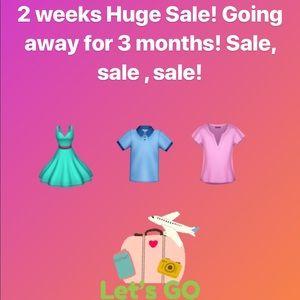 Sale, huge sale